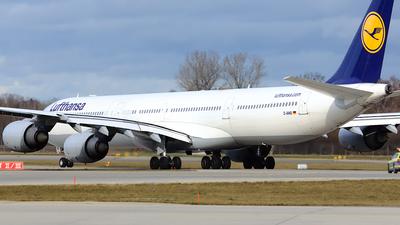 D-AIHD - Airbus A340-642 - Lufthansa