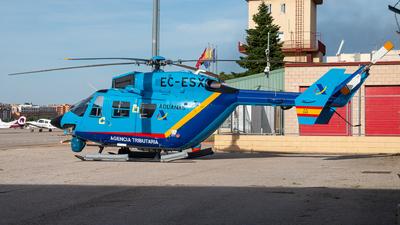 EC-ESX - MBB BK117A-3 - Spain - Aduanas