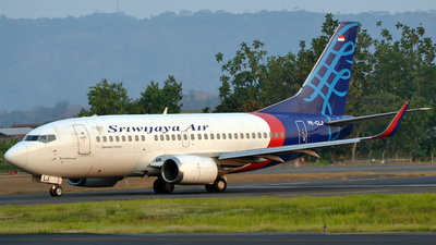 PK-CLJ - Boeing 737-524 - Sriwijaya Air