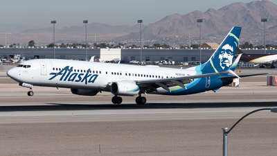 A picture of N288AK - Boeing 737990(ER) - Alaska Airlines - © Yixin Chen