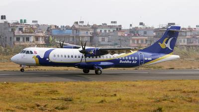 A picture of 9NAMU - ATR 72500 - Buddha Air - © karib ahmed