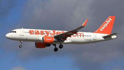 G-EZOF - Airbus A320-214 - easyJet