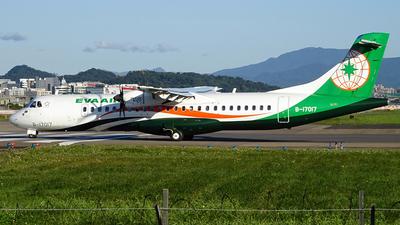 B-17017 - ATR 72-212A(600) - Eva Air