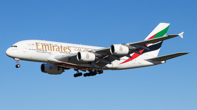 A6-EUF - Airbus A380-861 - Emirates