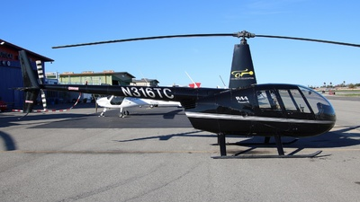 N316TC - Robinson R44 Raven II - Private