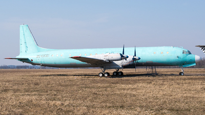 3X-GGU - Ilyushin IL-18D - Sky Guinee Airlines