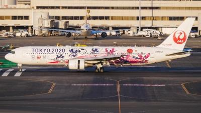 JA601J - Boeing 767-346(ER) - Japan Airlines (JAL)