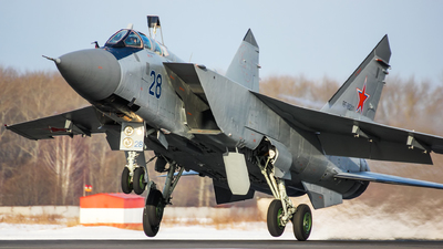 RF-95211 - Mikoyan-Gurevich MiG-31BM Foxhound - Russia - Air Force