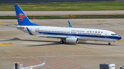 A picture of B1299 - Boeing 73781B - China Southern Airlines - © Morrisssssssss