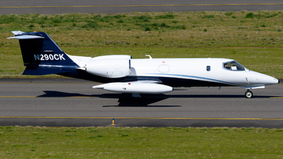 A picture of N290CK - Learjet 35A - Airnet - © TriSpotterWA