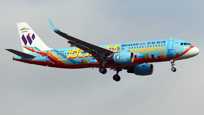 B-9982 - Airbus A320-214 - West Air