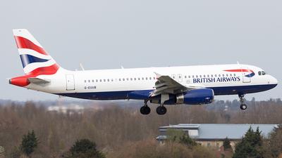 G-EUUB - Airbus A320-232 - British Airways