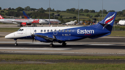 A picture of GMAJT - BAe Jetstream 41 - Eastern Airways - © Graham Perkin