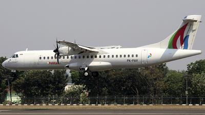 PK-PAV - ATR 72-212A(500) - Pelita Air
