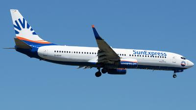 D-ASXV - Boeing 737-86Q - SunExpress Germany
