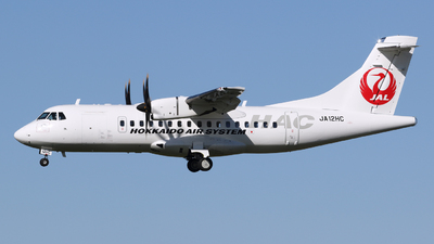 A picture of JA12HC - ATR 42600 - Hokkaido Air System - © Esa Kaihlanen