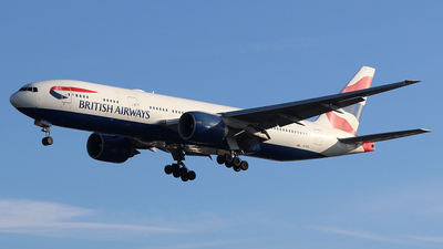 A picture of GVIIL - Boeing 777236(ER) - British Airways - © Ferenc Kolos