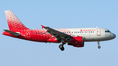 VP-BWJ - Airbus A319-111 - Rossiya Airlines