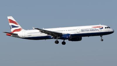 G-EUXD - Airbus A321-231 - British Airways