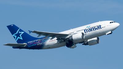 C Gpat Airbus A310 308 Air Transat N94504 Jetphotos