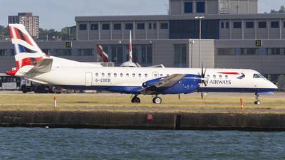 G-CDEB - Saab 2000 - British Airways