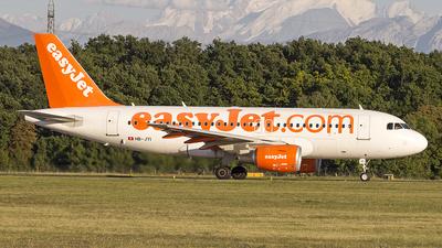 HB-JYI - Airbus A319-111 - easyJet Switzerland
