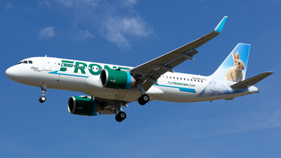 N349FR - Airbus A320-251N - Frontier Airlines