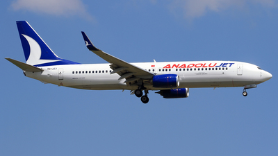 TC-JZJ - Boeing 737-8AS - AnadoluJet