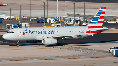 N655AW - Airbus A320-232 - American Airlines