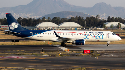 XA-ACT - Embraer 190-100LR - Aeroméxico Connect