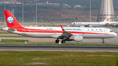 B-8686 - Airbus A321-211 - Sichuan Airlines