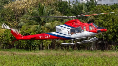 VT-GVA - Bell 412EP - Global Vectra Helicorp