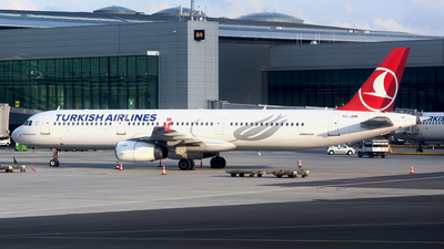 A picture of TCJRM - Airbus A321231 - Turkish Airlines - © Petr Polak