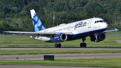 N563JB - Airbus A320-232 - jetBlue Airways