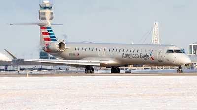A picture of N554NN - Mitsubishi CRJ900LR - American Airlines - © Davin Amy