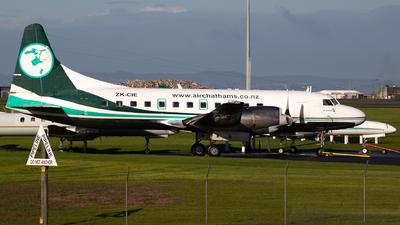 ZK-CIE - Convair CV-580 - Air Chathams