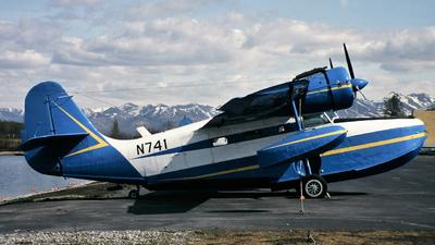 N741 - Grumman G-21A Goose - United States - Alabama Department of Public Safety