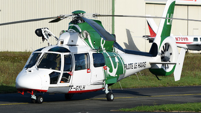 F-GYLH - Eurocopter AS 365N3 Dauphin - Pilote Le Havre
