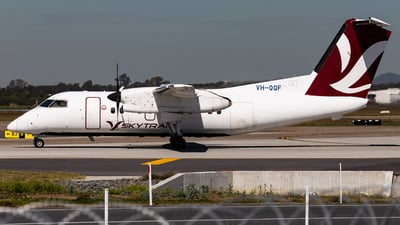 VH-QQF - Bombardier Dash 8-102 - Skytrans