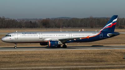VQ-BEF - Airbus A321-211 - Aeroflot