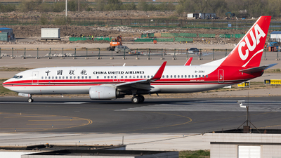 A picture of B20A1 - Boeing 73789P - China United Airlines - © Levine