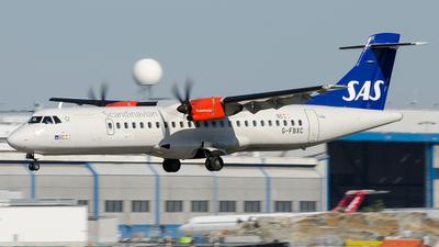 G-FBXC - ATR 72-212A(600) - Scandinavian Airlines (Flybe)