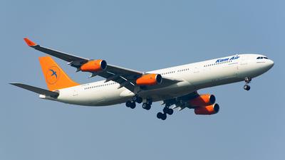 YA-KMH - Airbus A340-313X - Kam Air