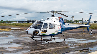 PT-HLL - Helibrás HB-350B Esquilo - Brazil - Government of Para State