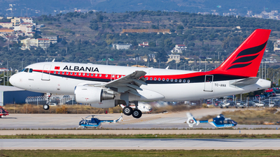 TC-ANA - Airbus A319-115(CJ) - Albania - Government