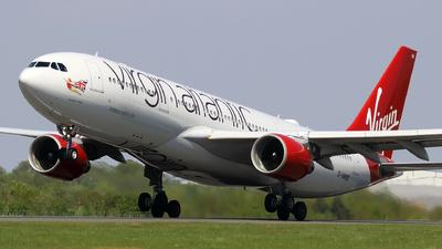 G-VWND - Airbus A330-223 - Virgin Atlantic Airways