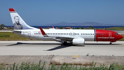 LN-DYO - Boeing 737-8JP - Norwegian