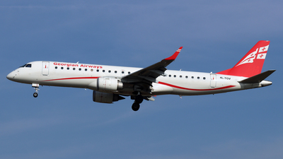 4L-TGV - Embraer 190-100IGW - Georgian Airways (AirZena)