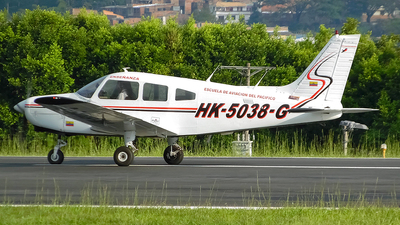 HK-5038-G - Piper PA-28-161 Warrior II - Escuela de Aviacion del Pacifico