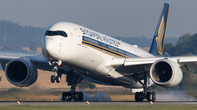 9V-SMK - Airbus A350-941 - Singapore Airlines